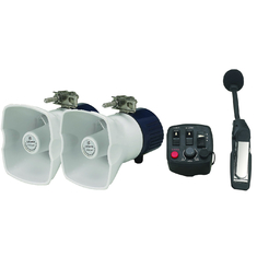 Good Quality Police Safety Equipment & 20W*2 Police Siren Speaker Horn with Microphone for Motorcycle PA system on sale