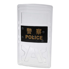 Good Quality Police Safety Equipment & Polycarbonate Military Anti Riot Shield Plastic Swat 147 Joule GA422-2008 on sale