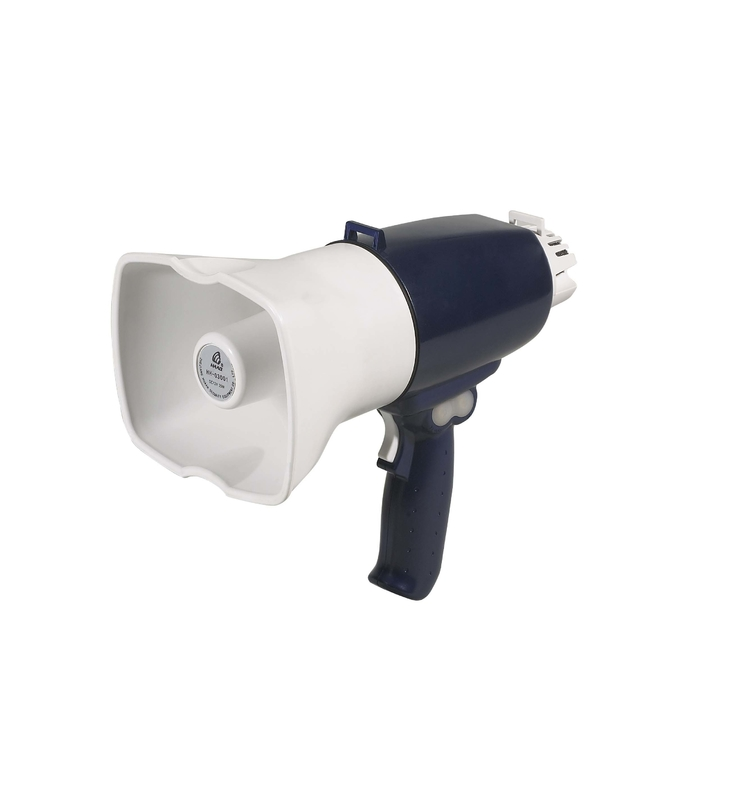 25W Police Handhold Megaphone With Siren Tone For Warning & Alarm