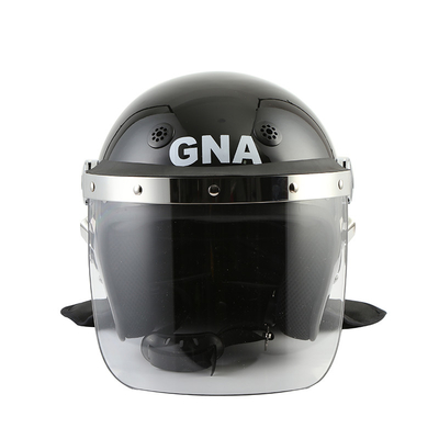 China Tactical Riot Helmet With Gas Mask Hook , Military Helmet With Face Shield factory