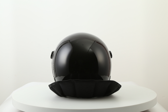 China Light Weight Anti Riot Police Helmet With Zipper Connected Neck Protection factory