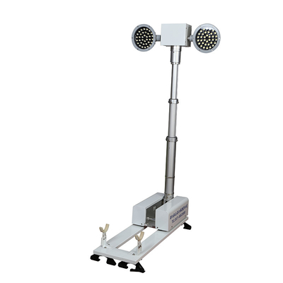 China 1.8M Police Safety Equipment Vehicle Mounted Light Tower For Emergency Illumination factory