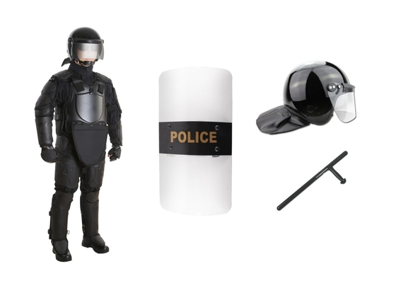 Security Anti Riot Police Outfit / Tactical Body Armor Suit Heavily Protected FV-2 Level