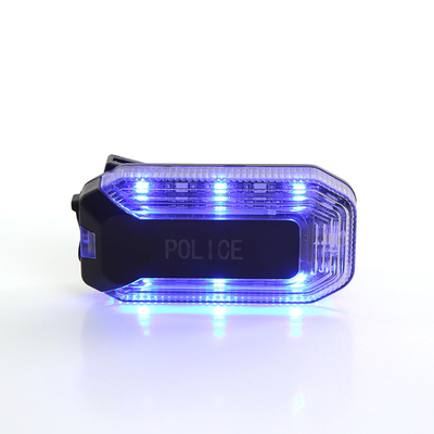 China Red Blue Flash Warning Police Shoulder Light For Emergency Traffic Department factory